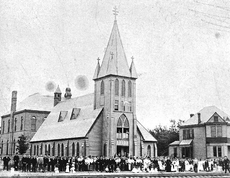persa rusinska cerkov v Passejku 1890-1905