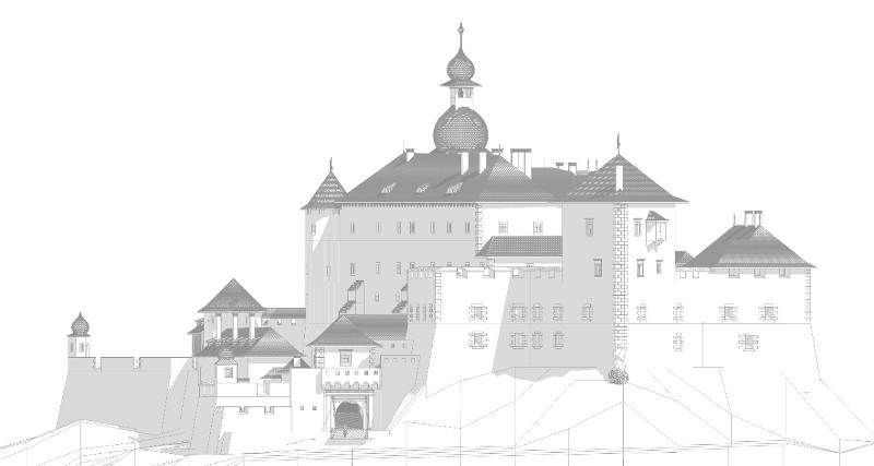 Замок. Хуст. Реконструкція