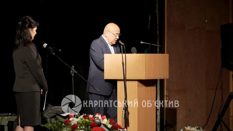 В Ужгороді вшанували пам'ять жертв угорської революції 1956 року